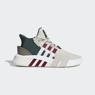 EQT Bask ADV Shoes Clear Brown / Ftwr White / Collegiate Burgundy F33854