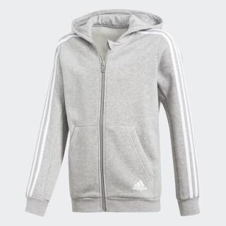 Essentials 3-Stripes Hoodie Medium Grey Heather/White CF6584