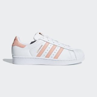 Superstar Shoes Cloud White / Pink Spirit / Copper Metalic F36949