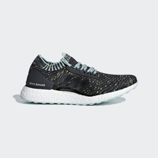 Ultraboost X Shoes Carbon / Ash Green / Raw Green BB6509