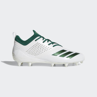 Adizero 5-Star 7.0 Cleats Cloud White / Dark Green / Dark Green DA9551
