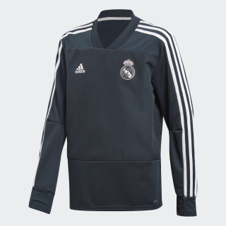 Top Real Madrid Training Blue / Black / Core White CW8654