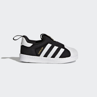 Zapatilla Superstar 360 Core Black/Footwear White S82711