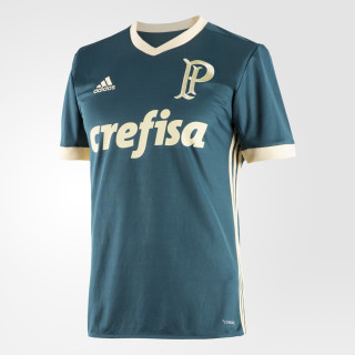 Camisa Palmeiras 3 MYSTERY GREEN S17/EASY YELLOW S17 BK7515
