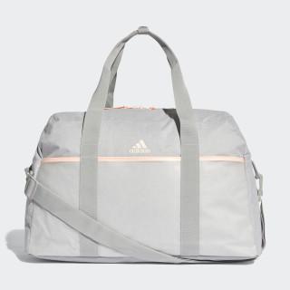 ID Duffelbag Medium Grey Heather / Clear Orange / Grey Four CZ5891