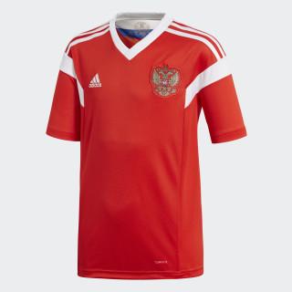 Camiseta Oficial Selección de Rusia Local Niño 2018 RED/WHITE BR9057