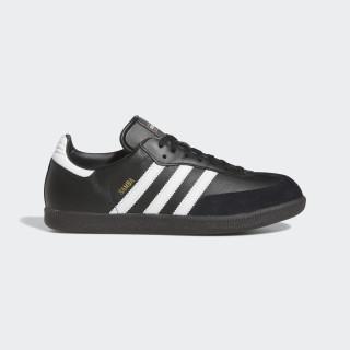Samba Leren Schoenen Black/Footwear White 019000