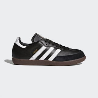 Zapatilla Samba Leather Black/Footwear White 019000