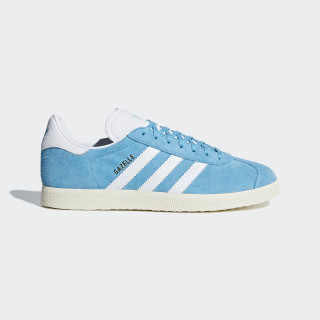 Gazelle Shoes Bright Cyan / Cloud White / Cream White B37945
