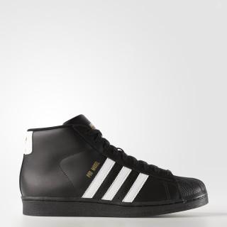 Pro Model Shoes Core Black / Cloud White / Gold Metallic B39368