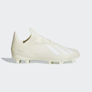 X 18.3 FG Fußballschuh Off White / Ftwr White / Gold Met. DB2417