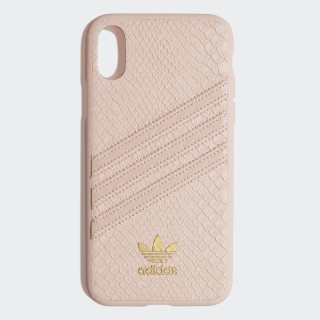 Snake Molded Case iPhone X Clear Pink / Gold Met. CK6215