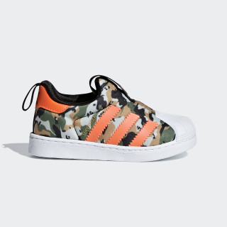 Superstar 360 Shoes Core Black / Hi-Res Orange / Cloud White F36794