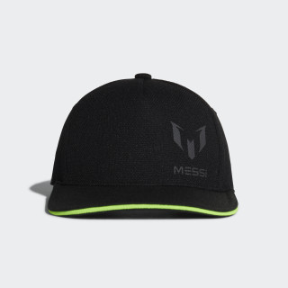 Messi Cap Black / Solar Green DJ2254