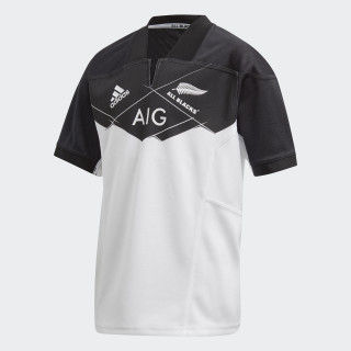 All Blacks Away Jersey White AZ5558