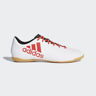 Chuteira X 17.4 Futsal GREY/REAL CORAL S18/CORE BLACK CP9150
