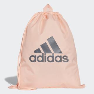 Performance Logo Gym Bag Clear Orange / Clear Orange / Night Met. DM7662