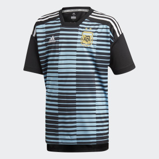Argentina Home Pre-Match Jersey Clear Blue / Black CF1554