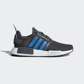 NMD_R1 Shoes Grey / Bright Blue / Bright Blue D96688