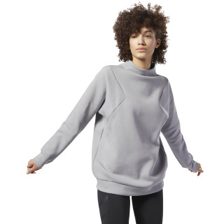 Pull à col rond Training Supply Mgh Solid Grey D93922