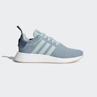 Tenis NMD_R2 RAW STEEL S18/ASH GREEN S18/FTWR WHITE CQ2010