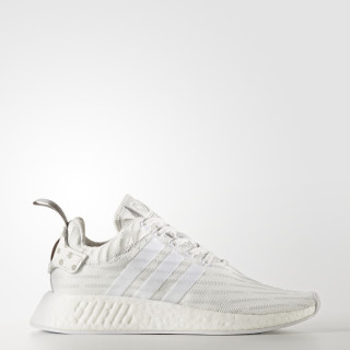 NMD_R2 Primeknit Shoes Clear Granite / Vintage White / Cloud White BY2245
