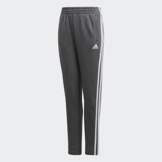 Essentials 3-Stripes Broek Dark Grey Heather / White DJ1794