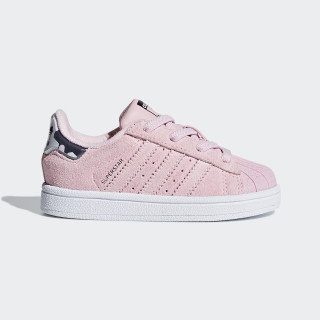 Superstar Schuh Clear Pink / Clear Pink / Ftwr White B37285