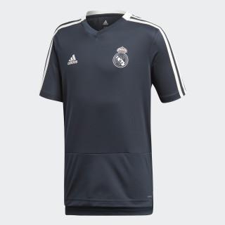Jersey de Entrenamiento Real Madrid Niño 2018 TECH ONIX/CORE WHITE CW8647