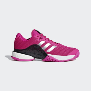 Barricade 2018 Boost Shoes Shock Pink / Matte Silver / Legend Ink AH2093