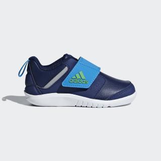 FortaPlay Schuh Dark Blue / Vivid Green / Bright Blue AH2460