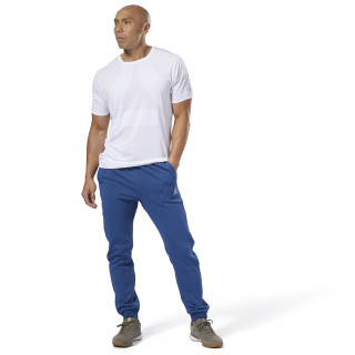 Training Essentials French Terry Jogger Bunker Blue DP1050