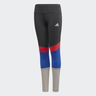 Training Wow Tights Carbon/Grey Two/Hi-Res Blue/Real Coral CF7192