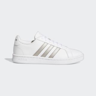 Sapatos Grand Court Ftwr White / Platin Met. / Ftwr White F36485