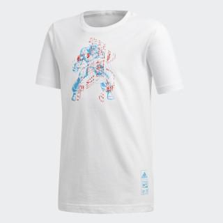 Camiseta Marvel Captain America White DM7768
