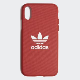 Fabric Snap Case iPhone X Shift Orange / White CK6147