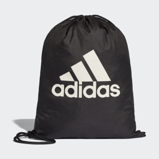 Performance Logo Gym Bag Black/Black/White BR5051
