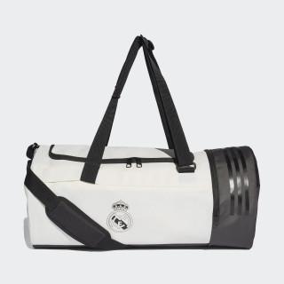 Bolsa Duffel Real Madrid CORE WHITE/BLACK CY5606
