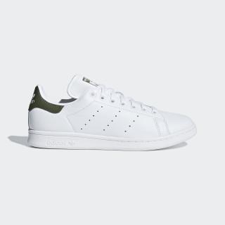 Scarpe Stan Smith Ftwr White / Ftwr White / Base Green B41477
