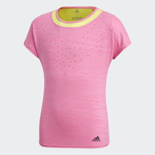 Dotty Tee Shock Pink DH2804