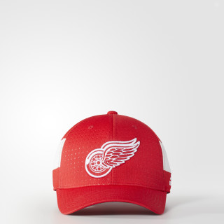 Casquette Red Wings Structured Flex Draft Red BZ8735