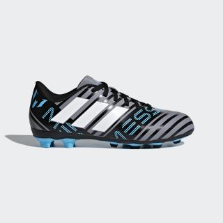 Zapatos de Fútbol Nemeziz Messi 17.4 Terreno Flexible GREY/FTWR WHITE/CORE BLACK CP9211