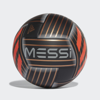 Balón Messi BLACK/TACTILE GOLD MET. F17/SOLAR RED CF1279