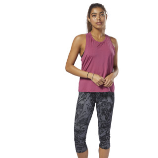 Perforated Speedwick Tank Twisted Berry D93962