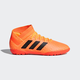 Nemeziz Tango 18.3 TF Fußballschuh Zest / Core Black / Solar Red DB2377
