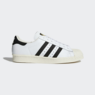 Zapatilla Superstar 80s White/Core Black/Chalk White G61070