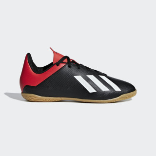 Calzado de Fútbol X 18 4 IN JR core black/off white/active red BB9409