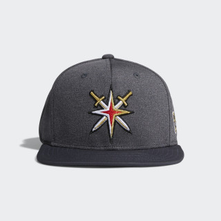 Golden Knights Snapback Heathered Grey Hat Nhl-Lvs-5vd CY0466