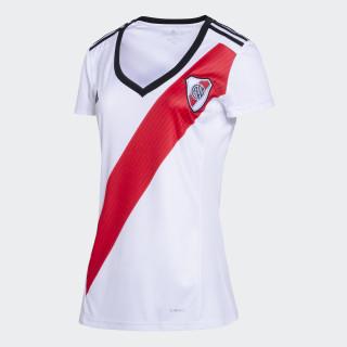 Camiseta Titular de Local Club Atlético River Plate Mujer WHITE/RED/BLACK CF8963