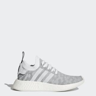 NMD_R2 Primeknit Schuh Footwear White/Core Black BY9520